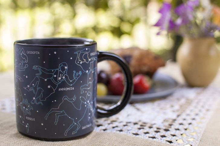 The Unemployed Philosophers Guild Heat Changing Constellation Mug