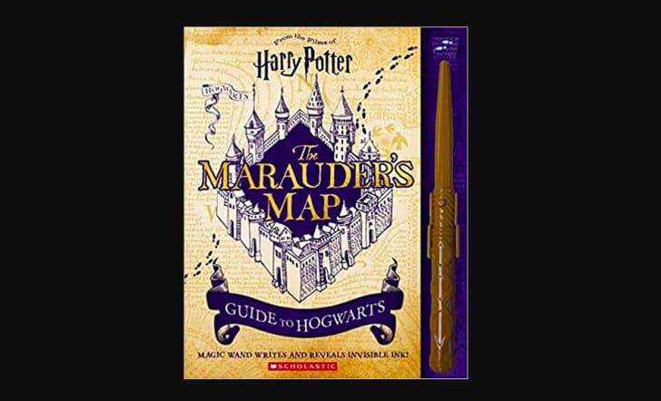 harry potter marauder's map guide to hogwarts