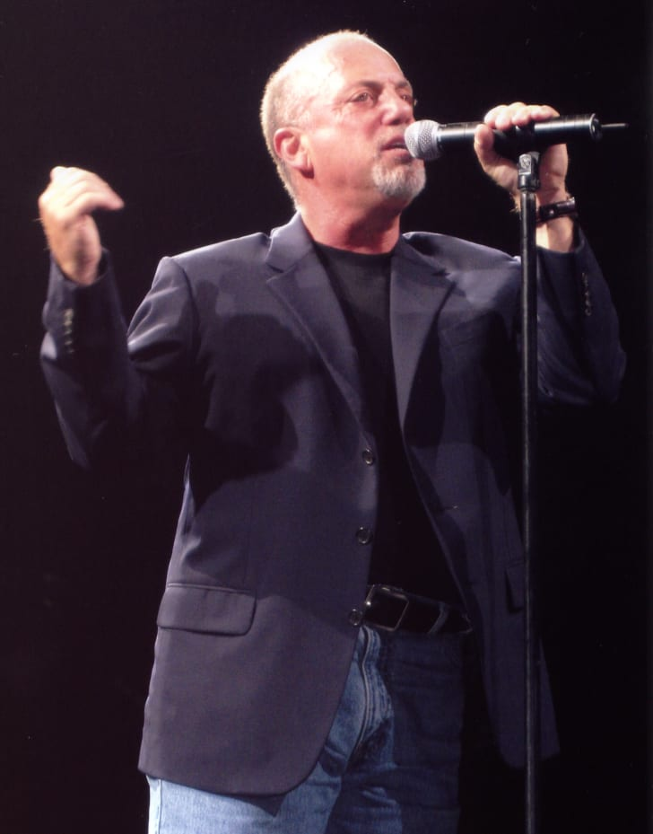 Billy Joel performing An Innocent Man at Burswood Dome in Perth Western Australia, 7 November 2006