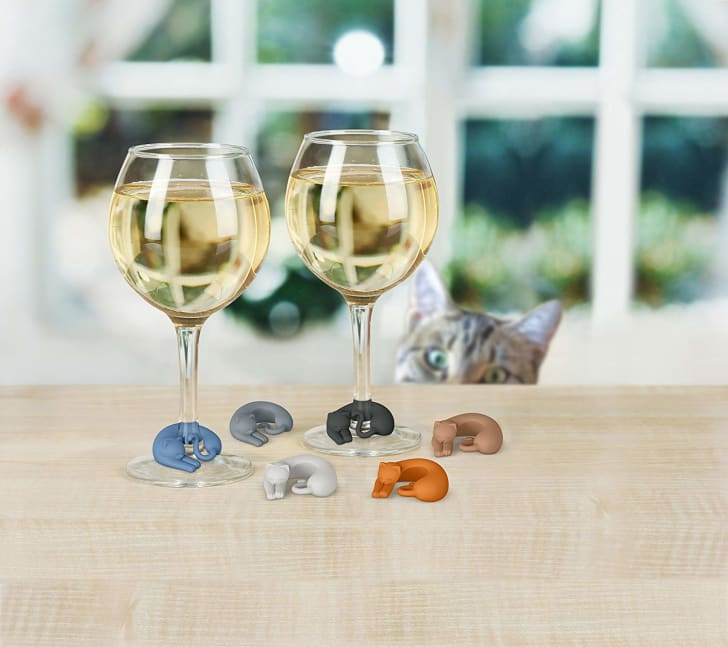 kitty wine markers