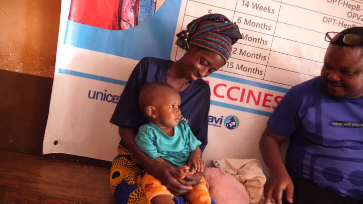sierra leonean mother and child
