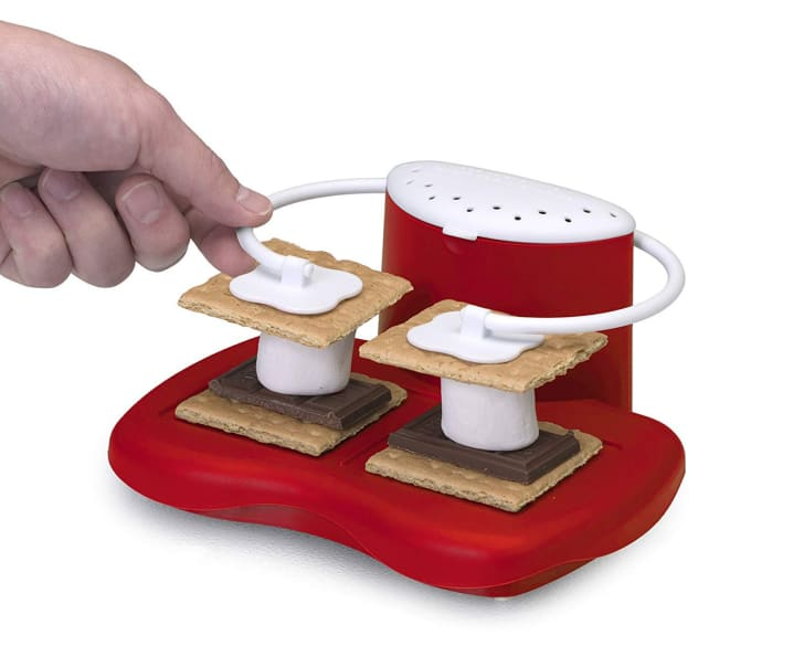 Weird Christmas gifts on Amazon. Microwavable s'mores maker.