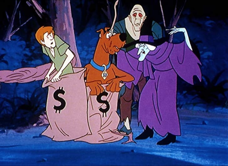 A still from 'Scooby Doo, Where Are You!'