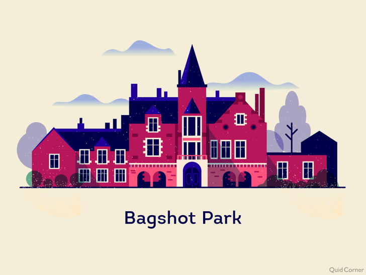 illustration of bagshot park