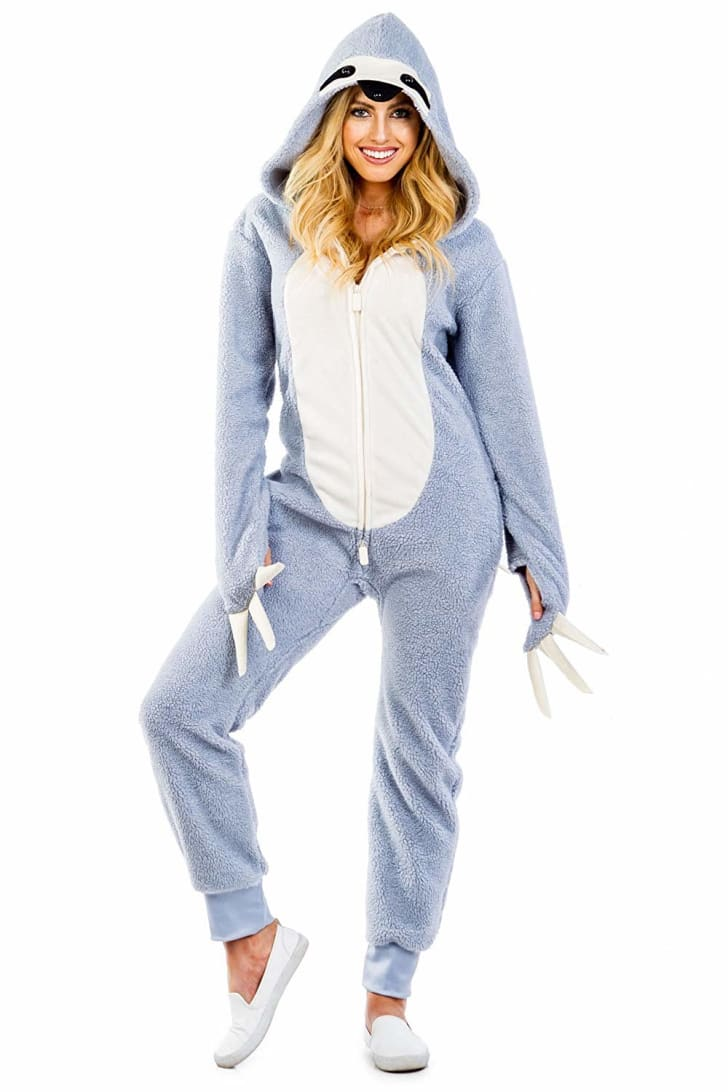 Tipsy Elves Sloth Onesie on Amazon.
