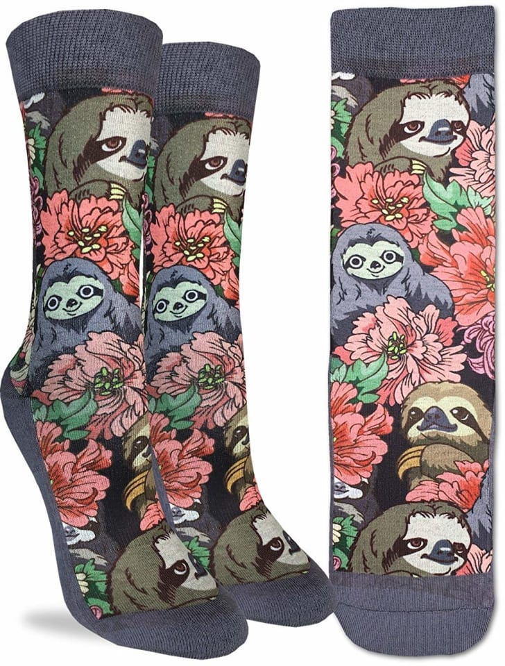 Sloth Socks on Amazon.