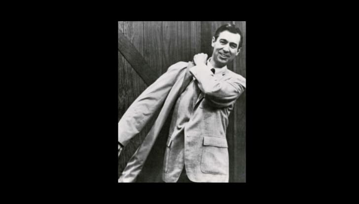 Photograph of Mister Rogers in the late 1960s