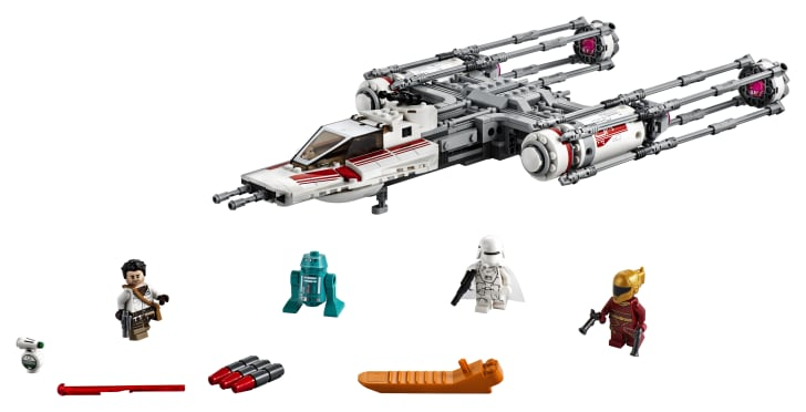 Star Wars Y-Wing LEGO Set.