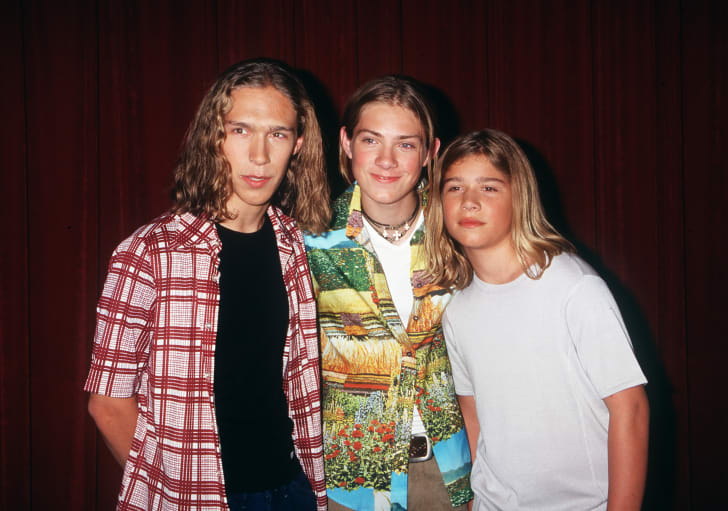 The boy band Hanson. 90 facts about the '90s.