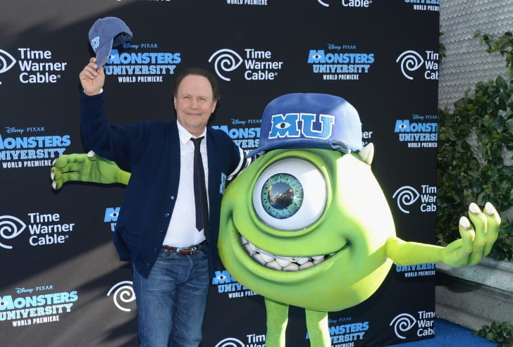 Billy Crystal at the premiere of Monsters University.
