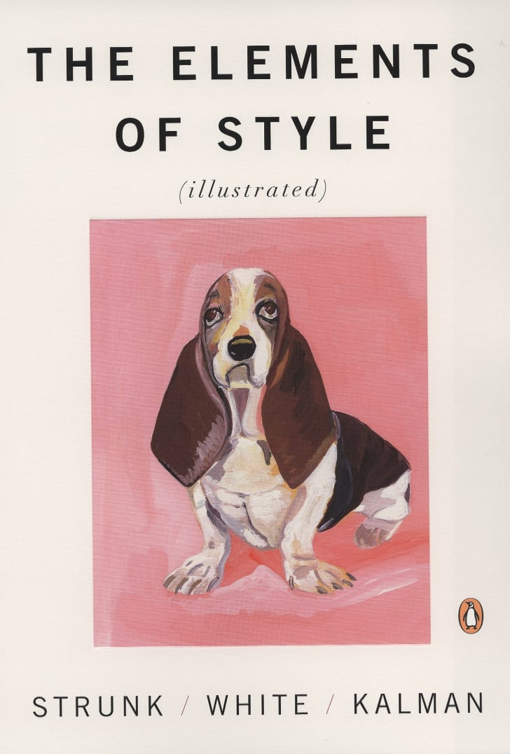 Elements of Style Illustrated Book.