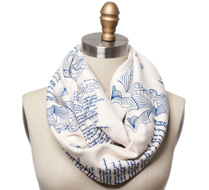 Storiarts' Still I Rise infinity scarf