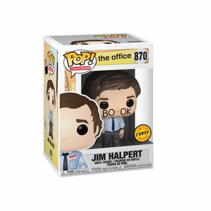 Jim from The Office Funko Pop! doll.