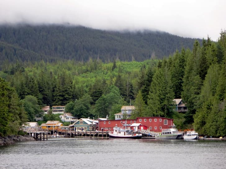 Telegraph Cove British Columbia
