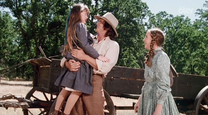 A scene from Little House on the Prairie