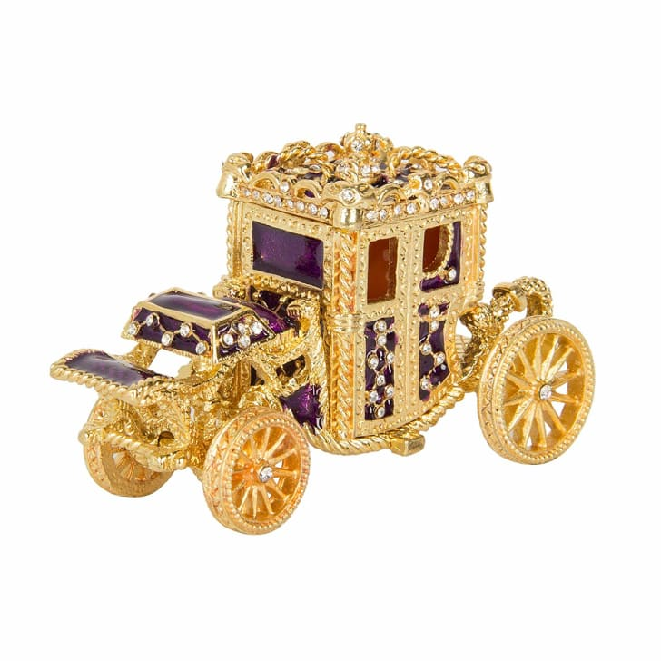 qifu royal carriage jewelry box