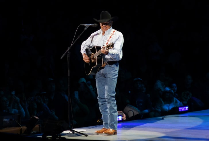 George Strait performing live at the Prudential Center in Newark, New Jersey, USA, March 1, 2014