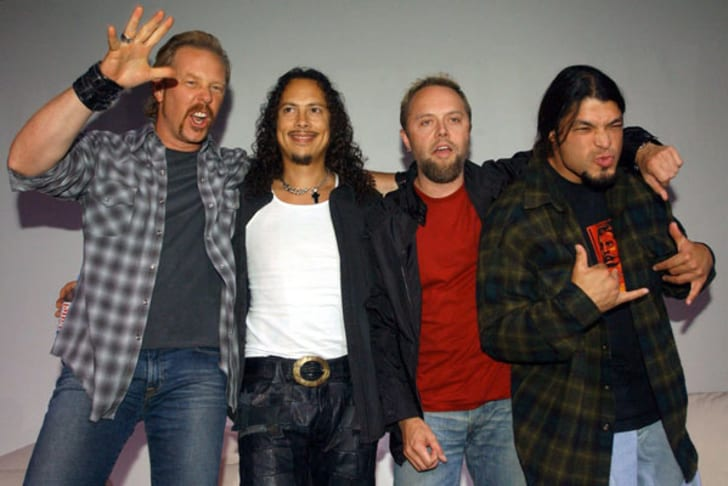 American band Metallica in 2003.