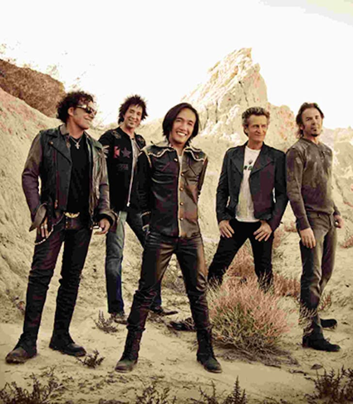 Publicity photo of American Rock Band Journey