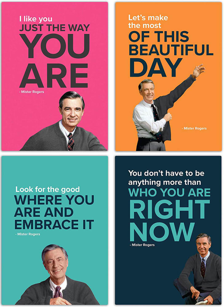 Mr Rogers magnets