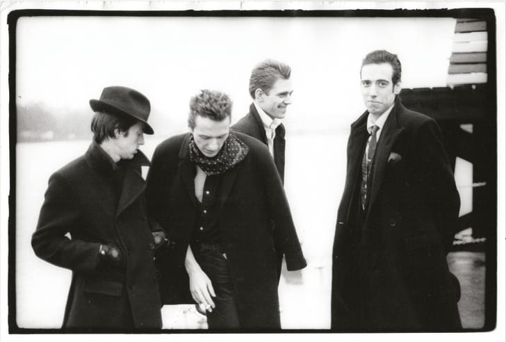 the clash at london calling video shoot