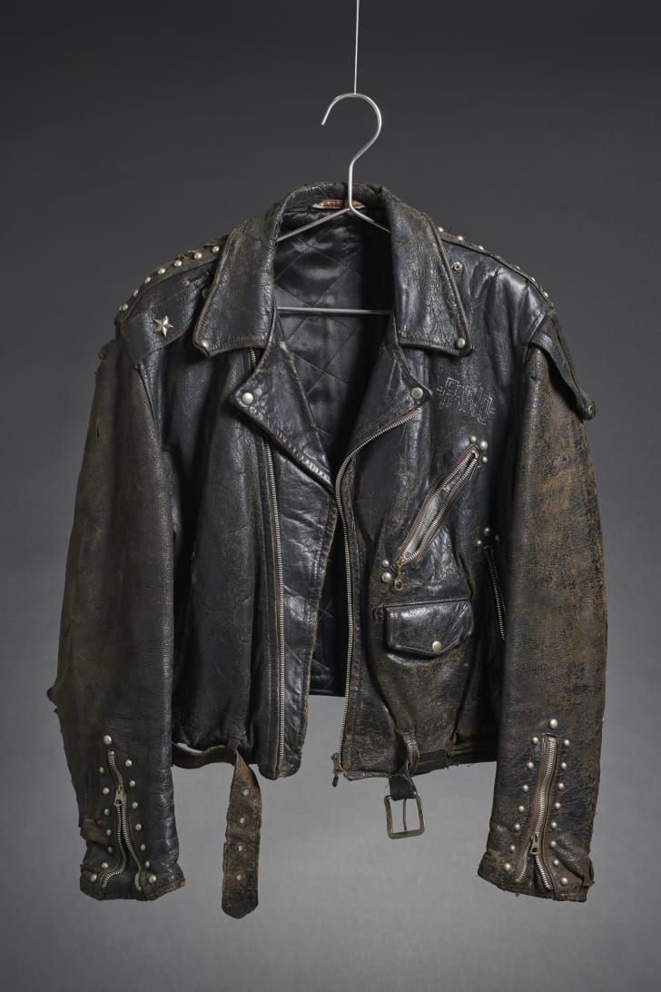 Paul Simonon's leather jacket