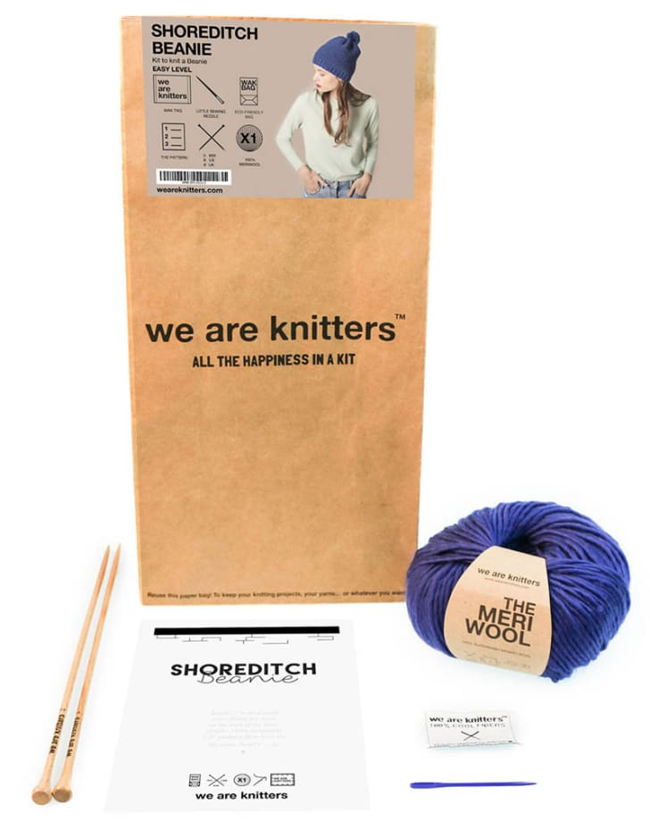 A knitting kit
