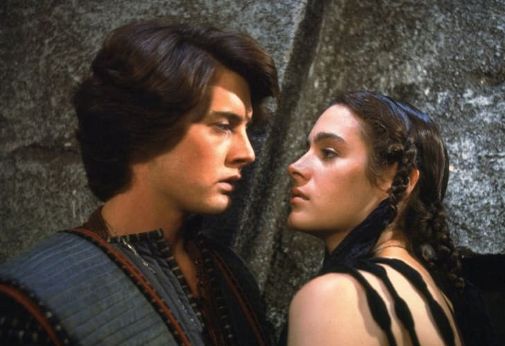 Sean Young and Kyle MacLachlan in Dune (1984)