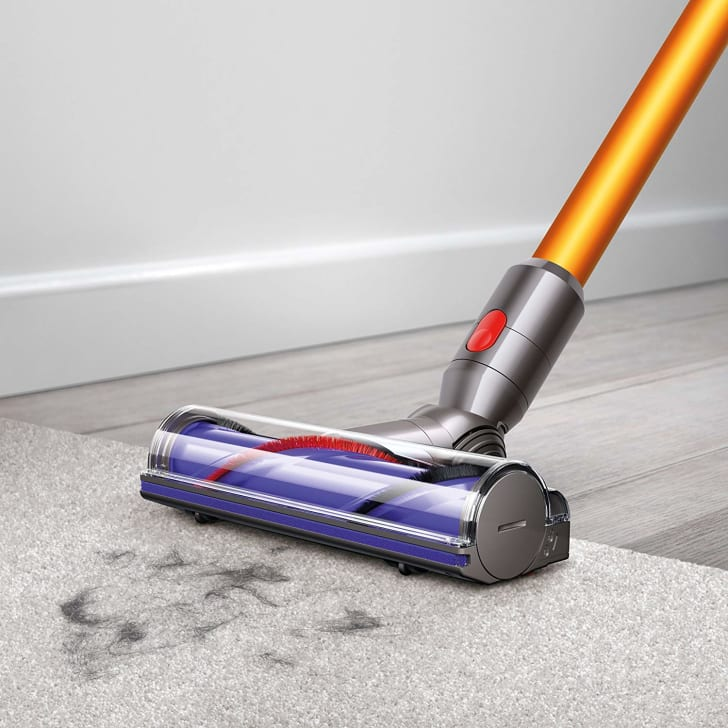 A cordless Dyson vacuum from Amazon.