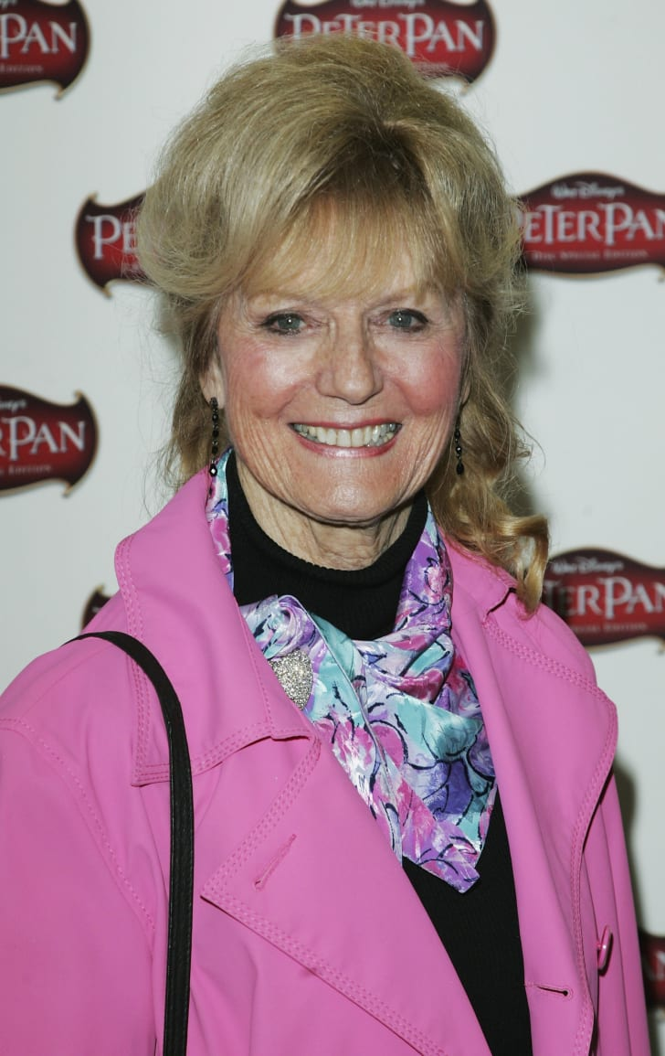 Kathryn Beaumont, the original voice of Alice from 'Alice in Wonderland.'