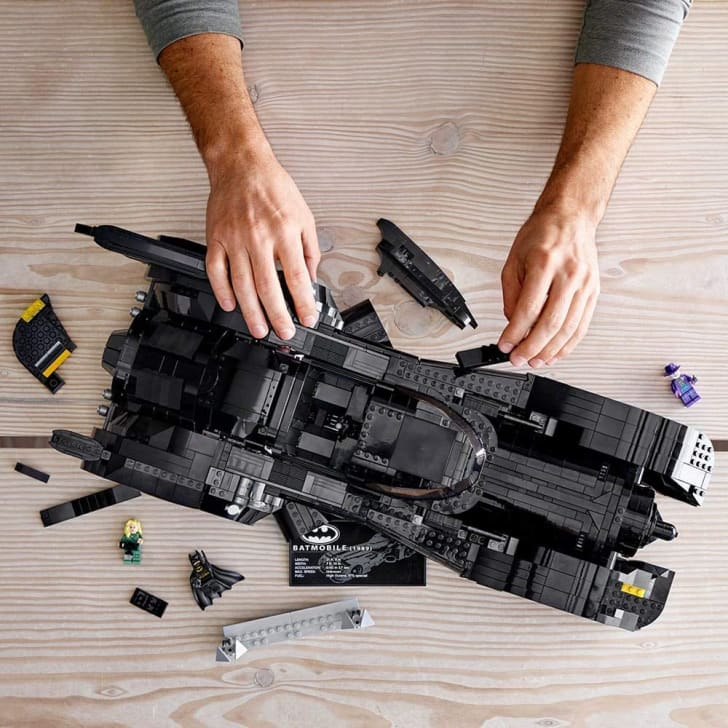 A LEGO Batman kit