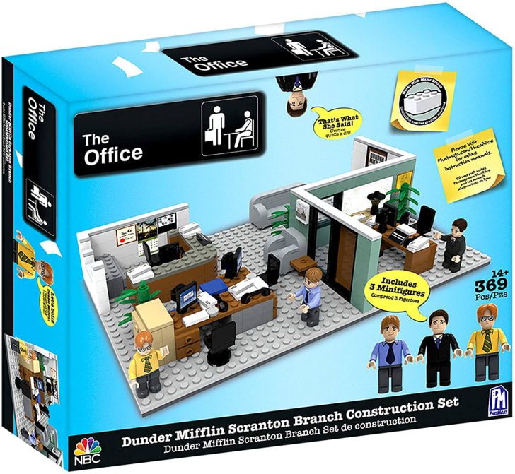 A set that allows you to construct The Office.