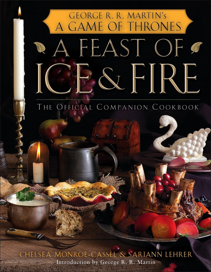 A Game of Throne's themed cookbook.
