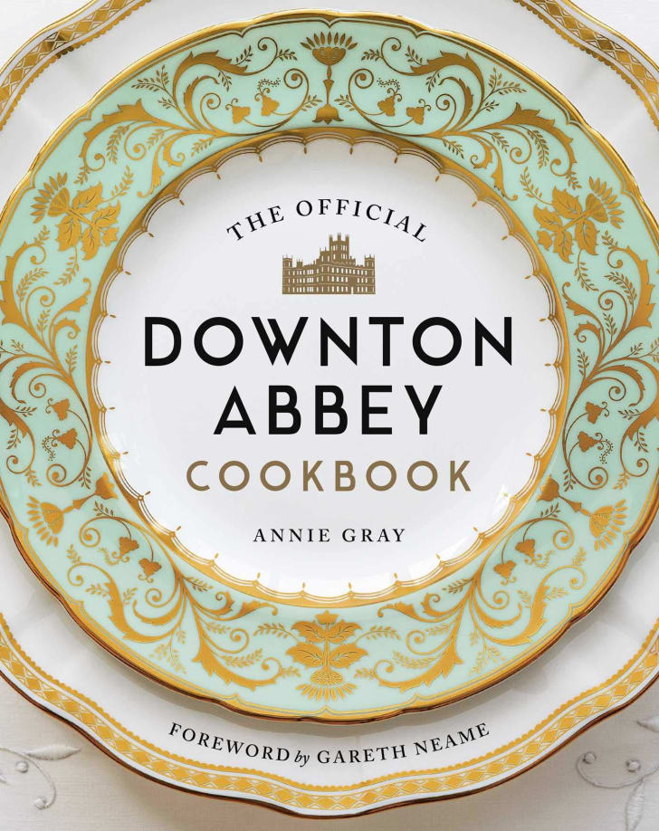 A copy of 'The Official Downton Abbey Cookbook.'
