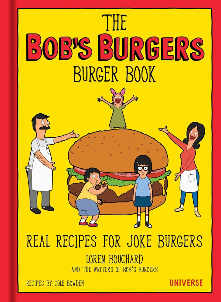 A cookbook that's based on the show 'Bob's Burgers.'