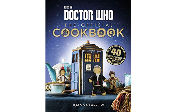The 'Doctor Who' cookbook.