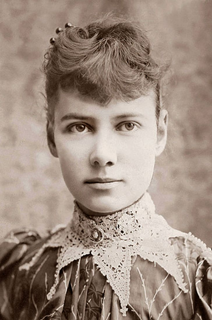 A portrait of Nellie Bly