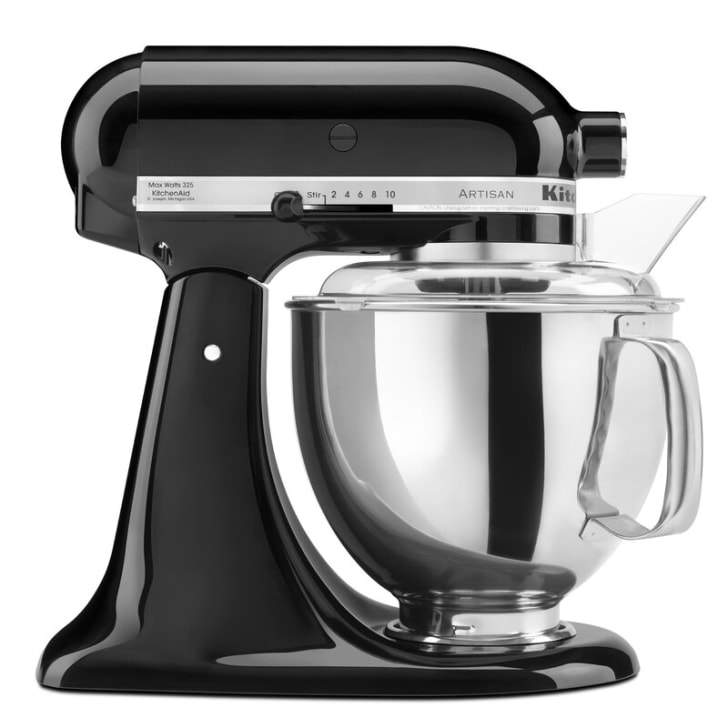 A KitchenAid blender.