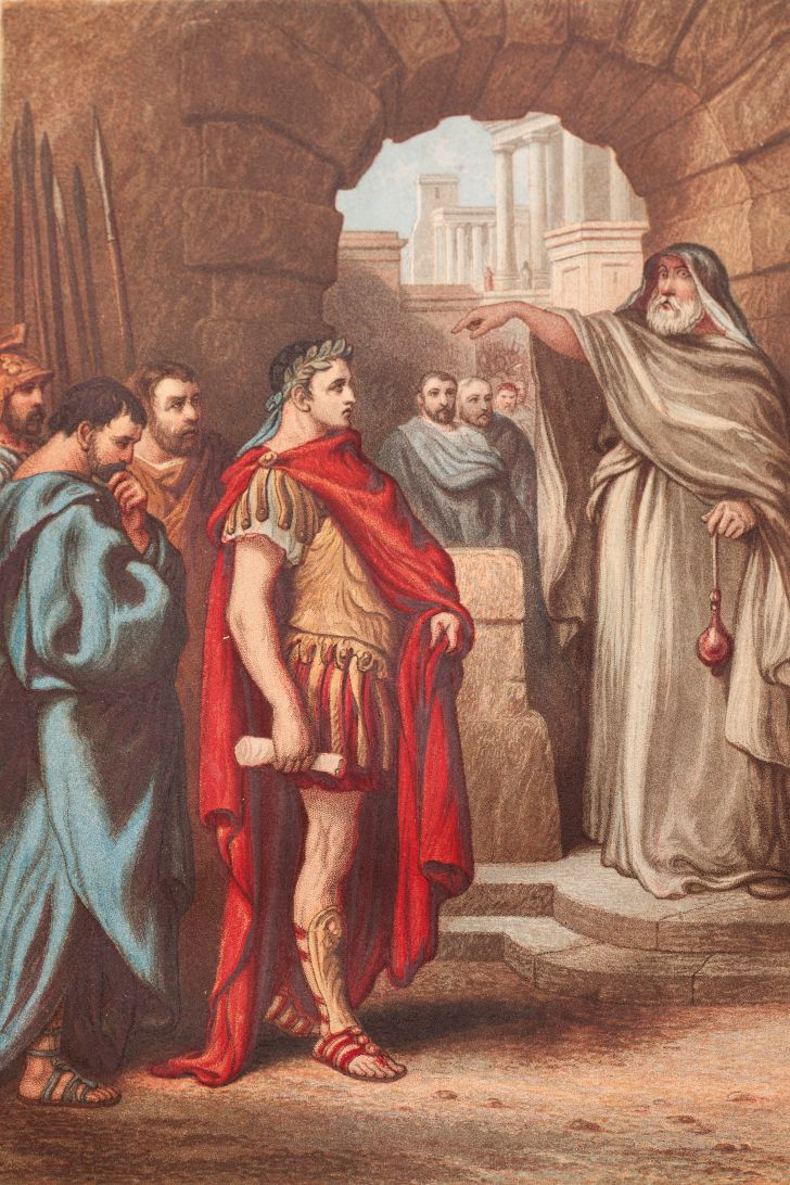 An illustration of William Shakespeare's The Tragedy of Julius Caesar