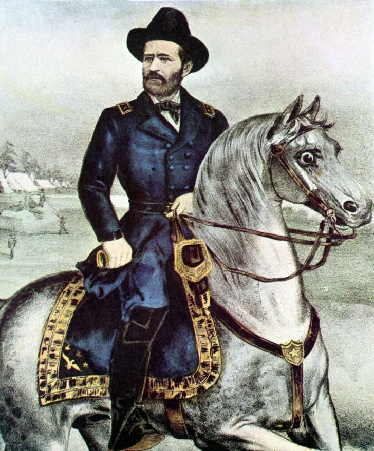 An illustration of Ulysses S. Grant.