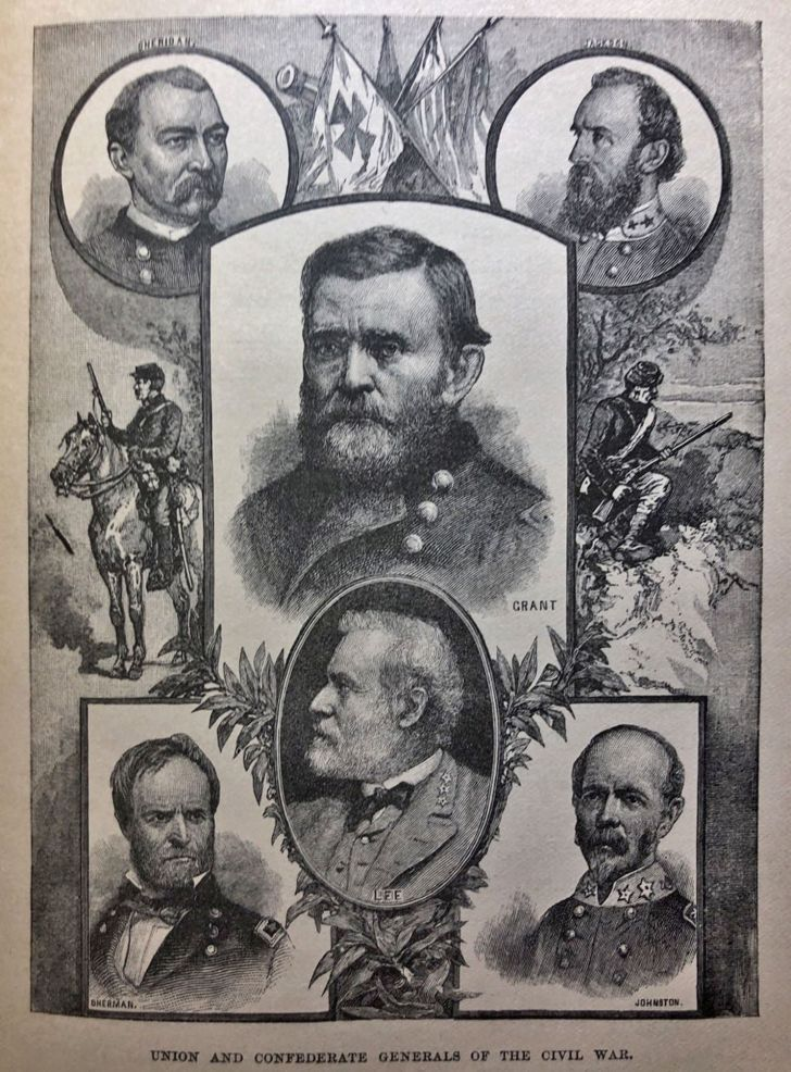 A poster featuring Ulysses S. Grant.