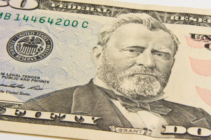 A photo of a $50 bill.