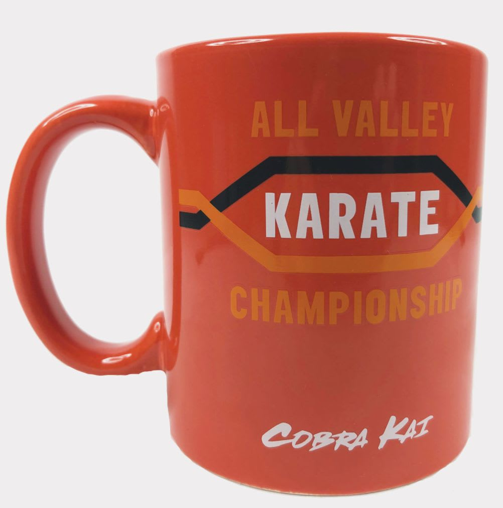 Discover the 'Cobra Kai' All Valley Karate Championship mug at Hot Topic.
