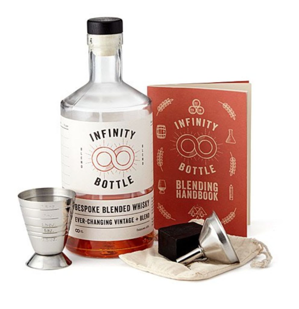 Discover Uncommon Goods' Infinity Whiskey Blending Kit.
