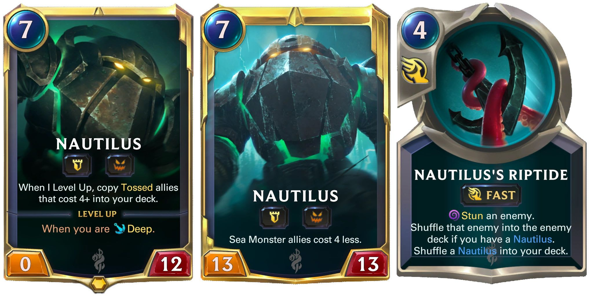 Nautilus, Legends of Runeterra.