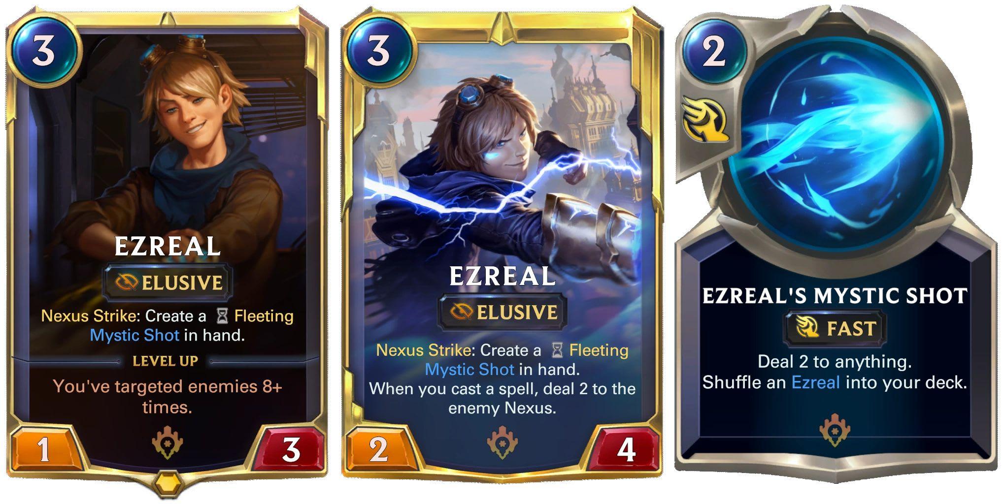 Ezreal, Legends of Runeterra.