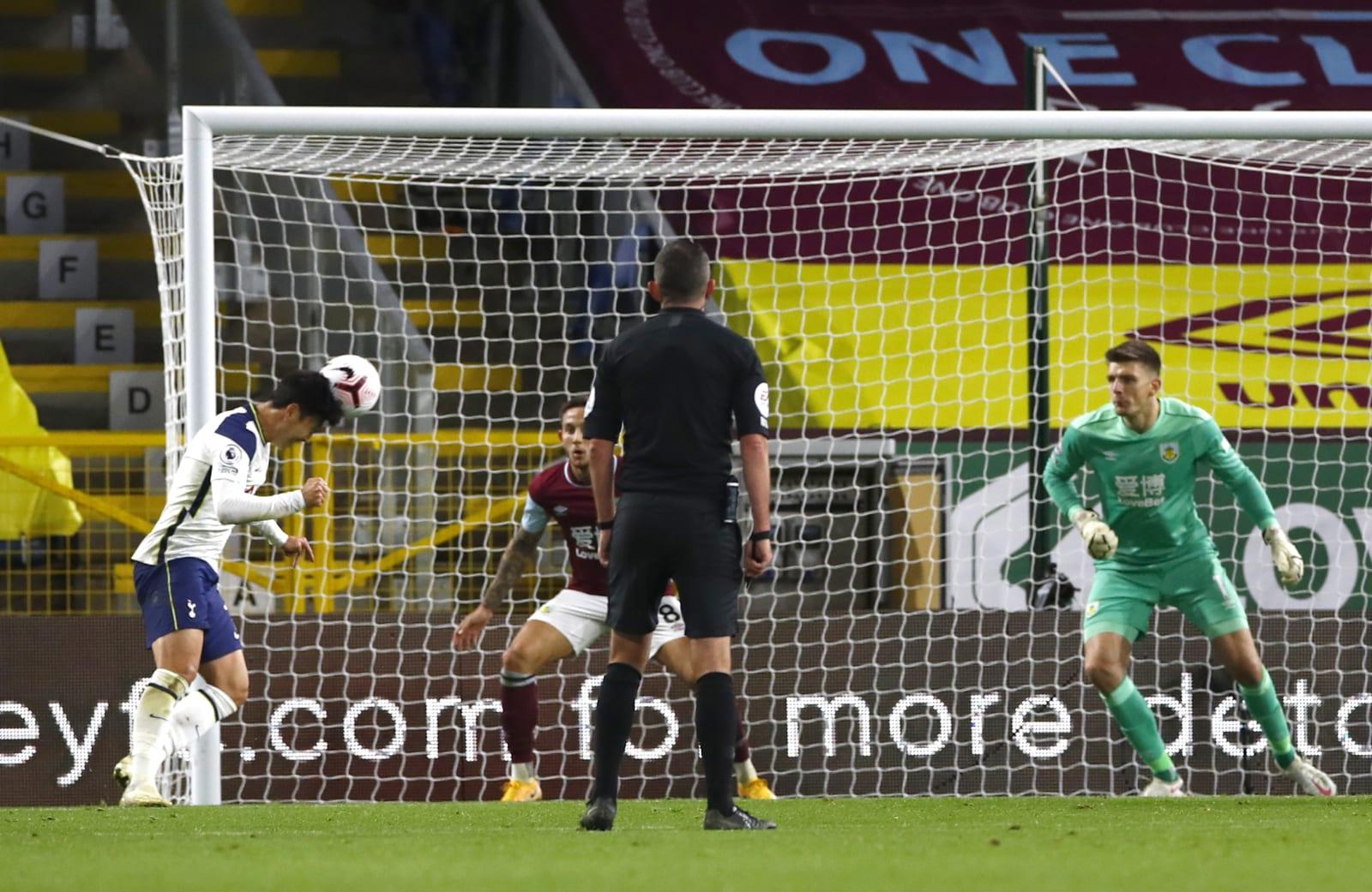 Son Scores for Tottenham