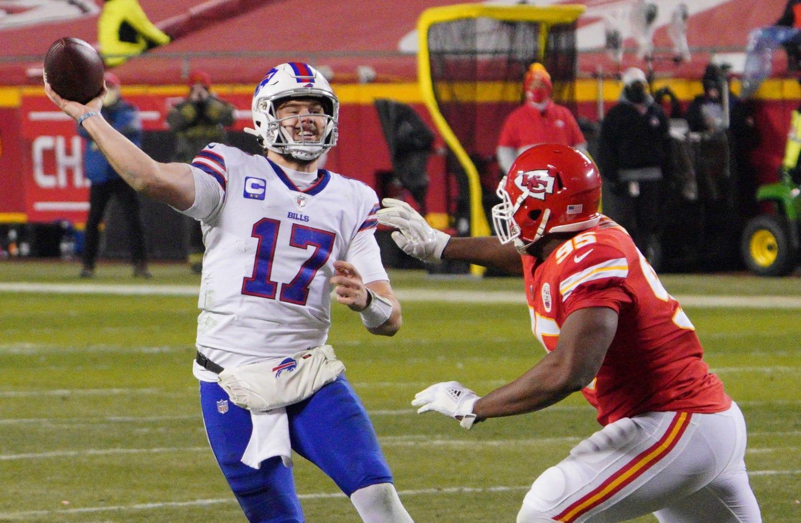 Josh Allen, Buffalo Bills, Kansas City Chiefs