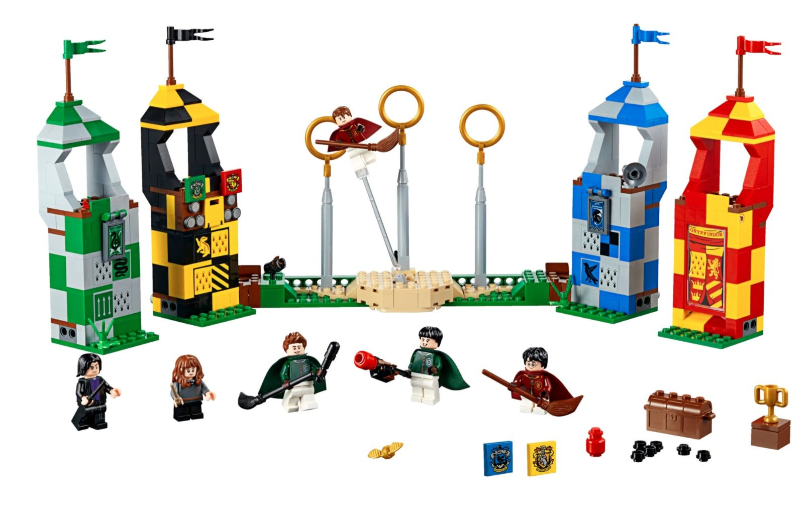 Discover the LEGO Harry Potter Quidditch Match set at LEGO.