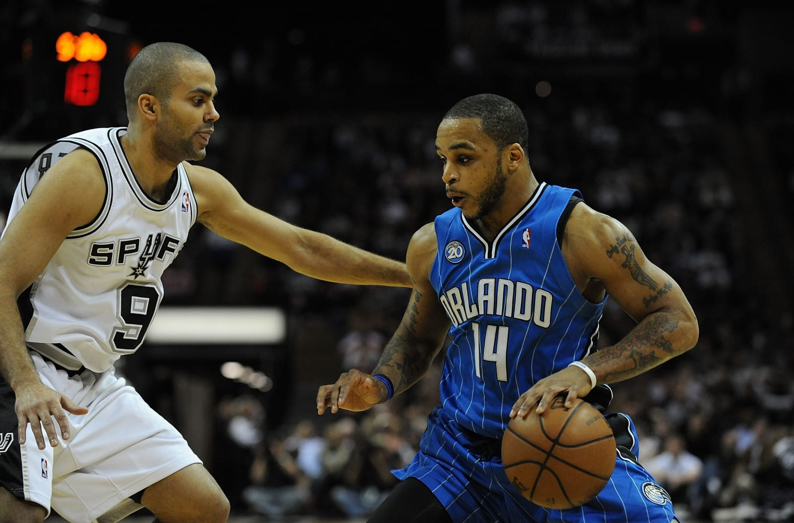 Jameer Nelson, Orlando Magic, San Antonio Spurs